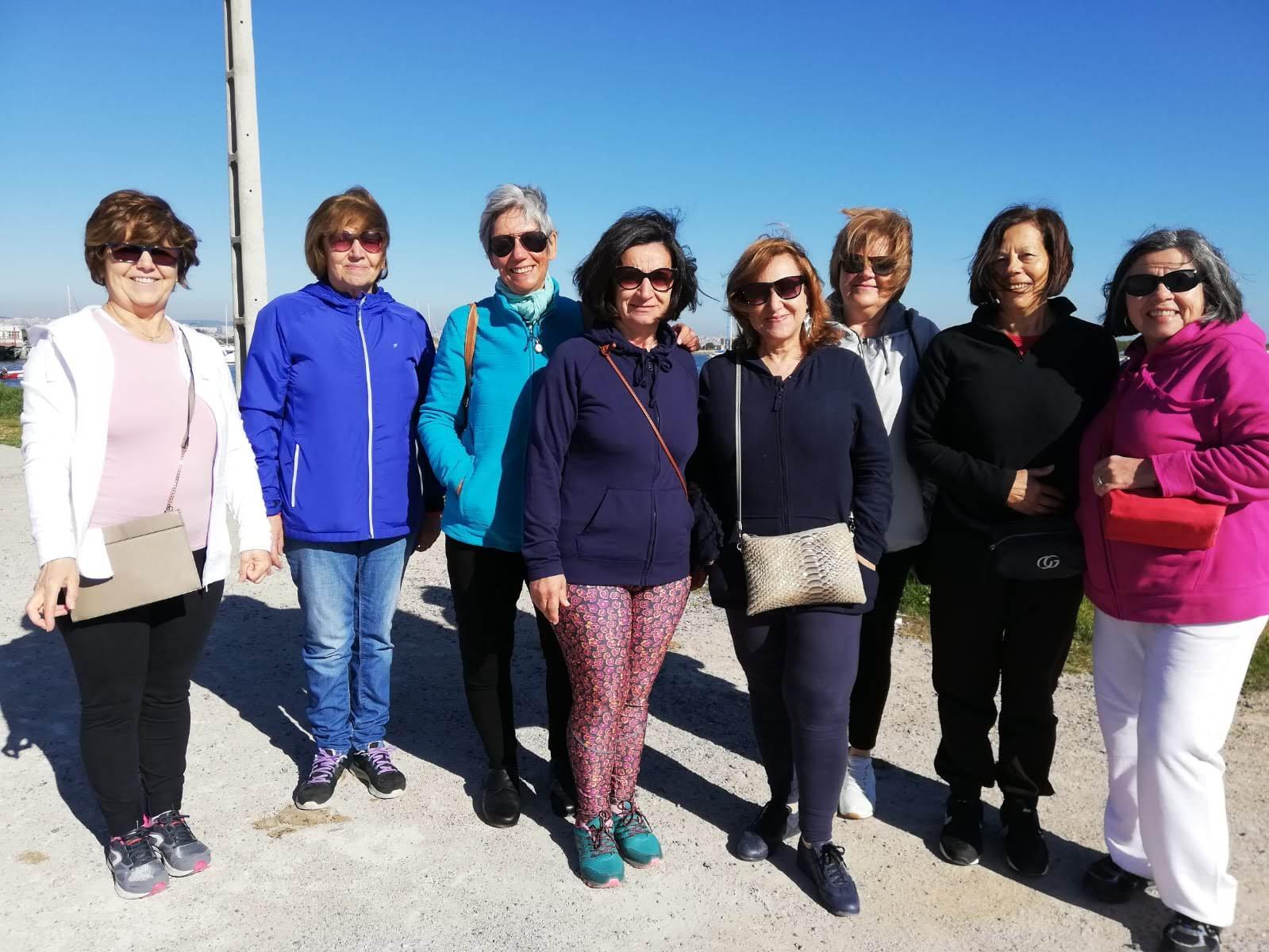 Grupo da caminhada